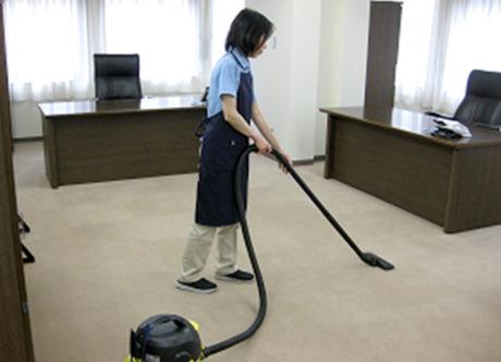 オフィス内 夕方から短時間清掃 トイレ清掃無し Wワーク可 フリーター希望 一人仕事